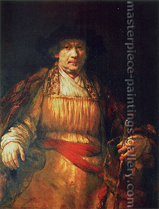 Rembrandt van Rijn, Self-Portrait, 1658, oil on canvas, 40.5 x 31.5 in. / 102.9 x 79.9 cm, US$515