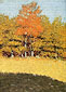 Frederic Remington, Untitled - Early Autumn, 1907-1908, oil on canvas, 26.1 x 18.1 in. /  66.3 x 46 cm, US$260