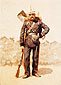 Frederic Remington, Full Dress Engineer, oil on canvas, 34 x 48 in. / 86.4 x 121.9 cm, US$430