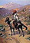 Frederic Remington, An Indian Trapper, 1889, oil on canvas, 49.1 x 34.3 in. / 124.8 x 86.9 cm, US$500