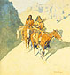 Frederic Remington, The Unknown Explorers, 1908, oil on canvas, 30 x 27.3 in. / 76.2 x 69.2 cm, US$290.