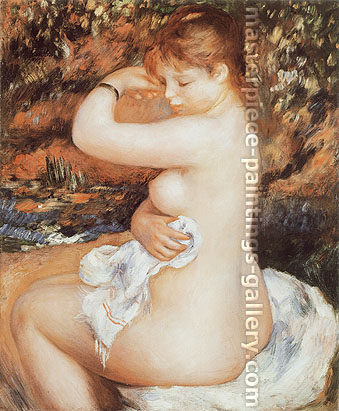 Pierre-Auguste Renoir, After the Bath, 1888, oil on canvas, 25.5 x 21.3 in. / 64.8 x 54 cm, US$275