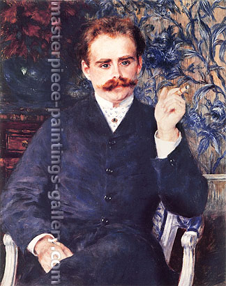 Pierre-Auguste Renoir, Portrait of Albert Cahen d'Anvars, 1881, oil on canvas, 31.9 x 25.6 in. / 81 x 65 cm, US$310