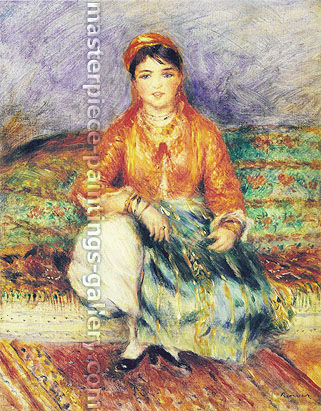 Pierre-Auguste Renoir, Algerian Girl, 1881, oil on canvas, 20 x 16 in. / 50.8 x 40.5 cm, US$310
