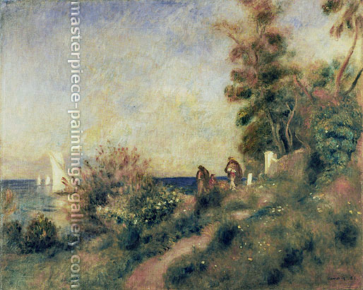 Pierre-Auguste Renoir, Antibes, 1888, oil on canvas, 25.6 x 32.1 in. / 65 x 81.6 cm, US$310