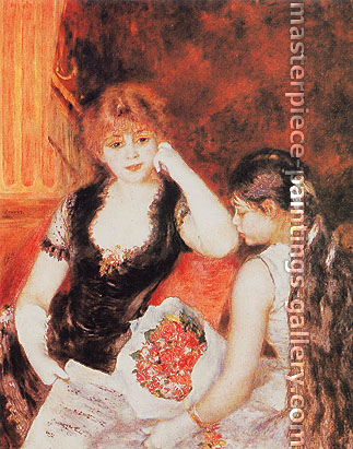 Pierre-Auguste Renoir, A Box at the Opera, 1880, oil on canvas, 35.7 x 28.1 in. / 90.7 x 71.4 cm, US$350
