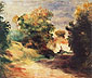 Pierre-Auguste Renoir, Countryside near Cagnes, 1907, oil on canvas, 24.4 x 29.1 in. / 61.9 x 73.8 cm, US$280