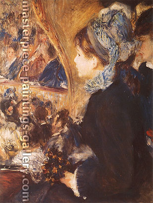 Pierre-Auguste Renoir, The First Outing, 1875-76, oil on canvas, 30 x 22.8 in. / 76.3 x 57.8 cm, US$290
