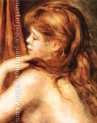 Pierre-Auguste Renoir, Head Young Girl, 1890, oil on canvas, 31.2 x 24.8 in. / 79.3 x 63 cm, US$300