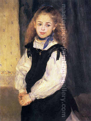 Mademoiselle Legrand, 1875, oil on canvas, 24 x 18.1 in / 61 x 46 cm, US$235