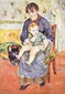 Auguste Renoir, Mother and Child, 1881, oil on canvas, 47.6 x 33.6 in. / 121 x 85.4 cm, US$540