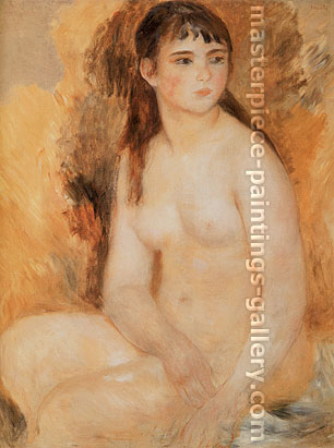 Pierre-Auguste Renoir, Nude, 1880, oil on canvas, 31.5 x 25.6 in. / 80 x 65 cm, US$320