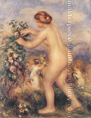 "Pierre Renoir, ""Ode to Flowers"" by Anacreon 