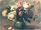 Pierre-Auguste Renoir, Still life with Rose, 1890, oil on canvas, 24.5 x 19.3 in. / 62.2 x 49.1 cm, US$270