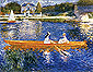 The Skiff | The Seine at Asnieres, 1879, oil on canvas, 23.7 x 30 in / 60.2 x 76.2 cm, US$290