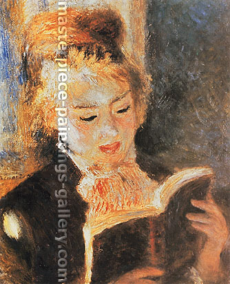Pierre-Auguste Renoir, Woman Reading, 1874, oil on canvas, 32.6 x 26.6 in. / 82.8 x 67.7 cm, US$320
