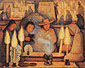 Diego Rivera, Day of the Dead | Dia de muertos, 1944, oil on canvas, 28.8 x 35.8 in. / 73.1 x 91 cm, US$350