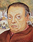 Diego Rivera, Self-Portrait 1949, 1949, oil on canvas, 30.2 x 24.2 in. / 76.8 x 61.4 cm, US$310