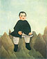 Henri Rousseau, Boy on the Rocks | L'enfant aux rochers, 1895-1897, oil on canvas, 32 x 26.3 in. / 81.3 x 66.7 cm, US$290