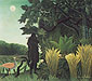 Henri Rousseau, The Snake Charmer | La Charmeuse de serpents, 1907, oil on canvas, 28.5 x 32 in. / 72.5 x 81.3 cm, US$400