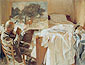 John Singer Sargent, An Artist in His Studio, 1903, oil on canvas, 21.5 x 28.3 in. / 54.6 x 71.8 cm, US$350