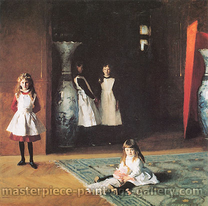 John Singer Sargent, The Daughters of Edward Darley Boit, 1882, oil on canvas, 60.9 x 60.9 in. / 154.7 x 154.7 cm, US$775