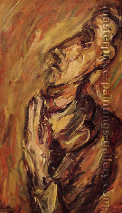Chaim Soutine, The Man in Prayer, 1921, oil on canvas, 35.4 x 21.3 in. / 90 x 54 cm, US$315