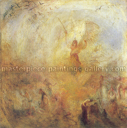 JMW Turner, The Angel Standing in the Sun, 1846, oil on canvas, 30 x 30 in. / 76.2 x 76.2 cm, US$280