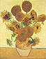 Vincent van Gogh, Fourteen Sunflowers in a Vase | Still Life: Vase with Fourteen Sunflowers, 1888, (JH 1562) oil on canvas, 36.6 x 28.7 in. / 93 x 73 cm, US$375