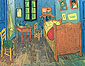 Vincent van Gogh, Vincent's Bedroom in Arles, 1889, oil on canvas, 22.2 x 29.1 in. / 56.5 x 74 cm, US$270