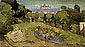 Vincent van Gogh, Daubigny's Garden, 1890, oil on canvas, 19.7 x 40 in. / 50 x 101.5 cm, US$350