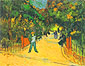 Vincent van Gogh, Entrance to the Public Park in Arles, 1888, oil on canvas, 28.54 x 35.8 in. / 72.5 x 91 cm, US$330