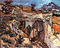 Vincent van Gogh, Entrance to Quarry near Saint-Remy, 1889, oil on canvas, 20.5 x 25.2 in. / 52 x 64 cm, US$280