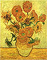 Fourteen Sunflowers in a Vase, 1889, (JH 1666) oil on canvas, 40 x 30.4 in / 101.6 x 77.3 cm, US$320