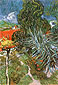 Vincent van Gogh, Doctor Gachet's Garden in Auvers, 1890, oil on canvas, 28.7 x 20 in. / 73 x 51 cm, US$290