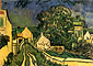 Vincent van Gogh, The House of Pere Pilon, 1890, oil on canvas,19.3 x 27.6 in. / 49 x 70 cm, US$290