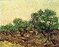 Vincent van Gogh, Olive Picking II, 1889, oil on canvas,  28.7 x 36.2 in. / 73 x 92 cm, US$320