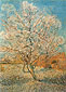 Vincent van Gogh, Peach Tree in Blossom, 1888, oil on canvas, 31.7 x 23.4 in. / 80.5 x 59.5 cm, US$300