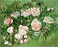 Vincent van Gogh, Still life: Pink Rose, 1890, oil on canvas, 12.6 x 15.9 in. / 32 x 40.5 cm, US$250