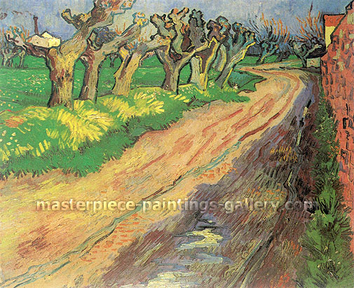 Vincent van Gogh, Pollard Willows, 1889, oil on canvas, 21.7 x 25.6 in. / 55 x 65 cm, US$360