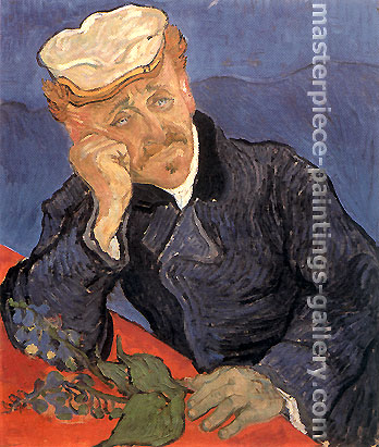 Vincent van Gogh, Portrait of Doctor Gachet, 1890, oil on canvas, 26.8 x 22.4 in. / 68 x 57 cm, US$280