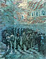 Vincent van Gogh, Prisoners Excercising | after Dore, 1890, oil on canvas, 31.5 x 25.2 in. / 80 x 64 cm, US$300