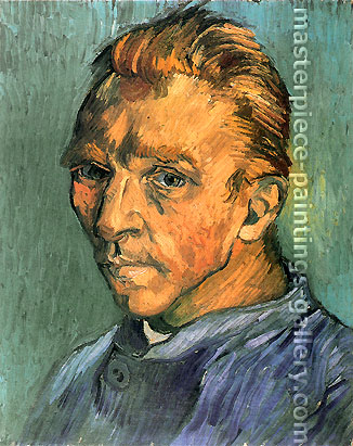 Vincent van Gogh, Self-Portrait, 1889, oil on canvas, 15.7 x 12.2 in. / 40 x 31 cm, US$300