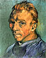 Vincent van Gogh, Self-Portrait, 1889, oil on canvas, 15.7 x 12.2 in. / 40 x 31 cm, US$250