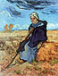 Vincent van Gogh, The Shepherdess, 1889, oil on canvas, 20.7 x 16 in. / 52.7 x 40.7 cm, US$270
