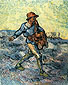 Vincent van Gogh, The Sower (Large), 1889, oil on canvas, 31.8 x 26 in. /  80.8 x 66 cm, US$290