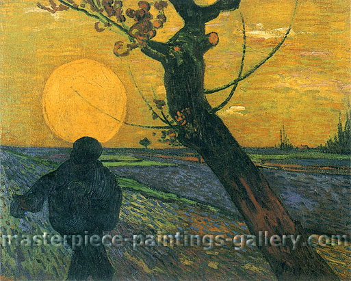 The Sower (JH 1627), 1888, oil on canvas, 28.9 x 36.6 in. / 73.5 x 93 cm, US$550