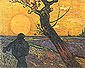 Vincent van Gogh, The Sower (large), 1888, oil on canvas, 28.9 x 36.6 in. / 73.5 x 93 cm, US$300