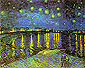 Vincent van Gogh, Starry Night Over the Rhone, 1888, (JH 1592) oil on canvas, 28.5 x 36.2 in. / 72.5 x 92 cm, US$330