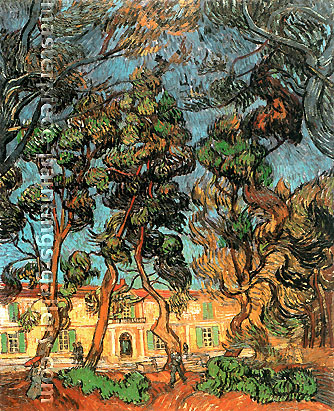 Vincent van Gogh, Tree in the Garden of Saint-Paul Hospital 2, 1889, oil on canvas, 28.7 x 23.6 in. / 73 x 60 cm, US$4